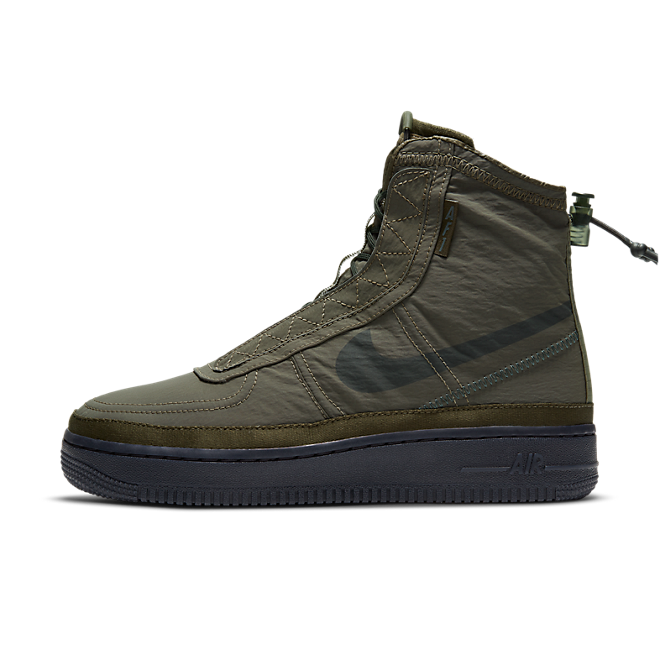 Nike W Air Force 1 Shell Cargo Khaki/ Off Noir-Seaweed