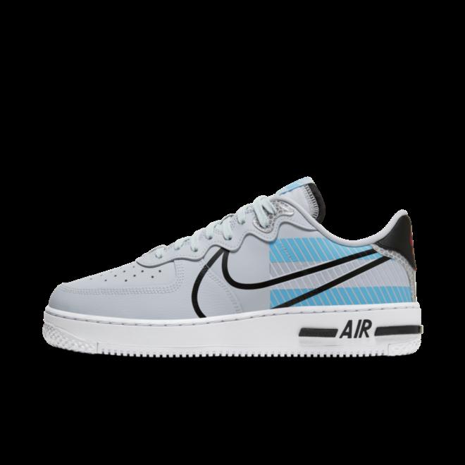 Nike Air Force 1 React 3M 'Pure Platinum'