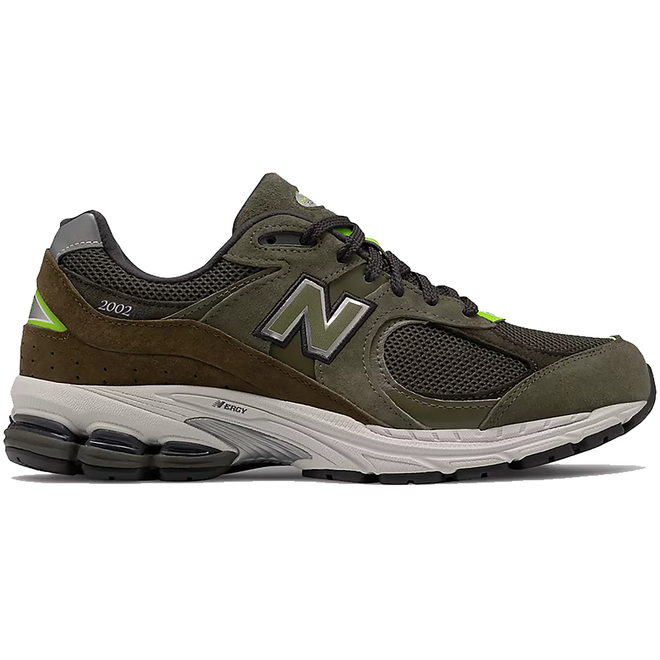 New Balance 2002R Camo Green Nettle Green