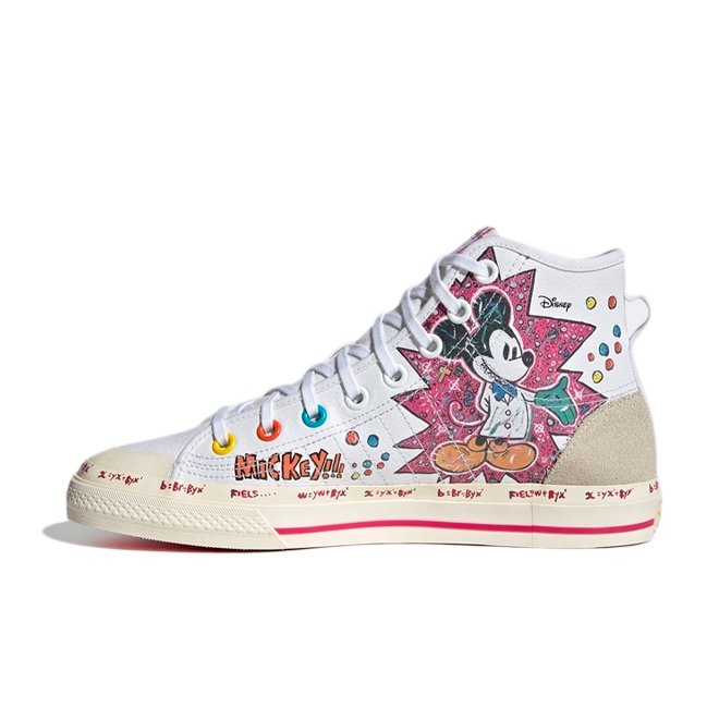 Disney X adidas Nizza High 'Mickey' GZ8838