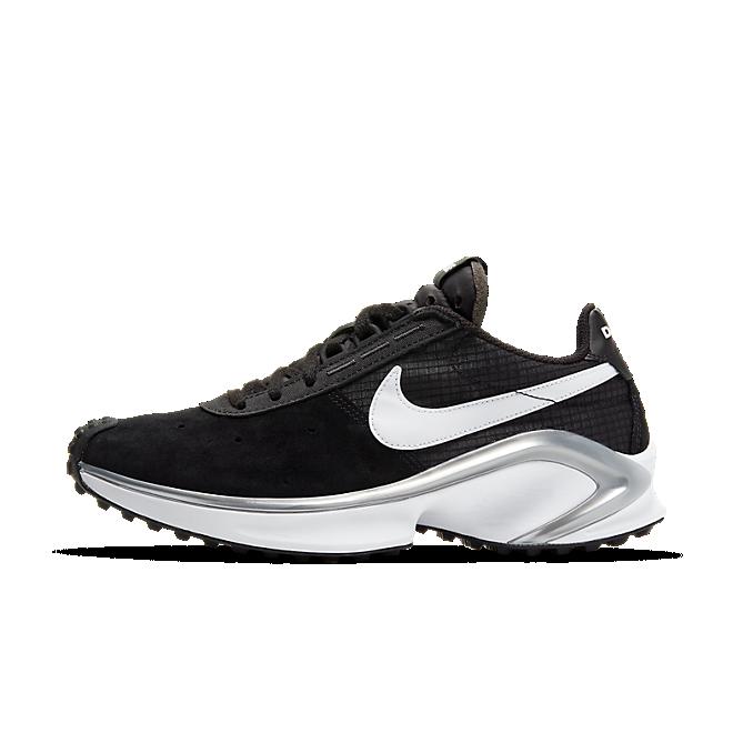 Nike D/MS/X Waffle Black/ White-Metallic Silver-White