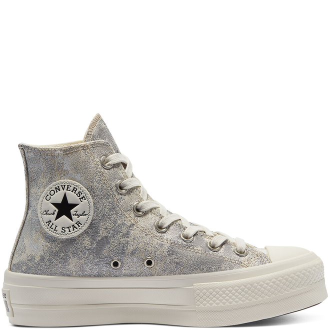 Elevated Metallic Platform Chuck Taylor All Star High Top