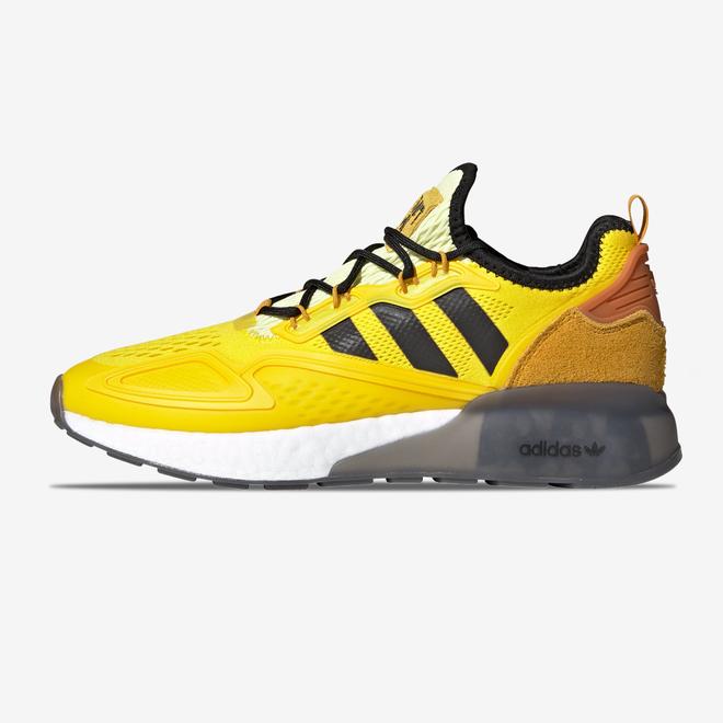 "Adidas Ninja x ZX 2K Boost ""Yellow"""
