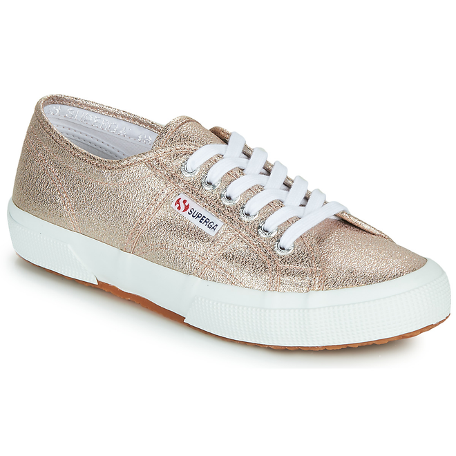 Superga  2750 LAMEW  women's Shoes (Trainers) in Pink