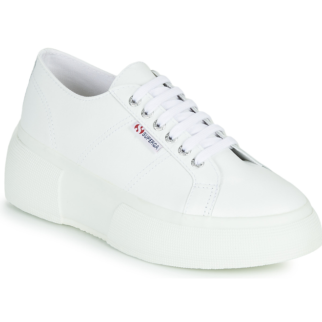 Superga  2287 LEANAPPAW  women's Shoes (Trainers) in White