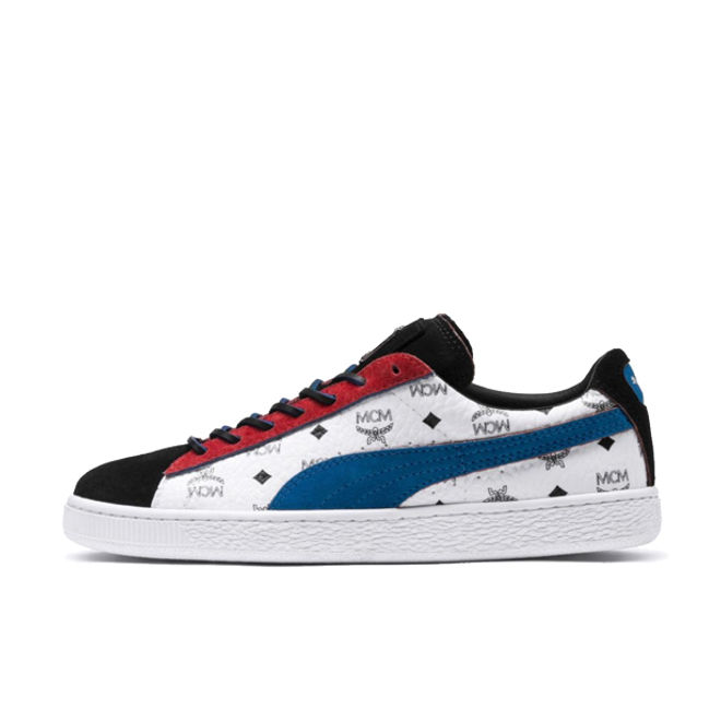 buy popular 17f32 8a28d MCM X Puma Suede classic 'White' | 366299-03 | Sneakerjagers