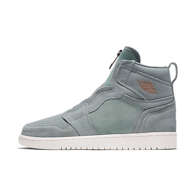 Air Jordan 1 High Zip 'Grey' zijaanzicht