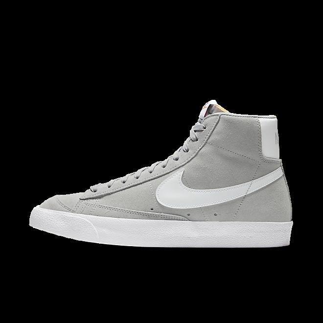 Nike Blazer Mid '77 Suede Lt Smoke Grey/ White-White-Black CI1172-004