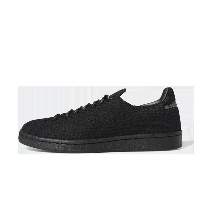 Pharrell Williams X adidas Superstar Primeknit 'Black' GX2482