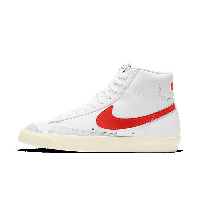Nike W Blazer Mid '77 White Habanero Red Sail CZ1055-101