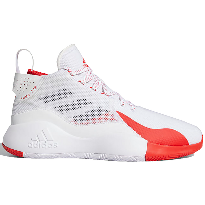 adidas D Rose 773 Cloud White Vivid Red