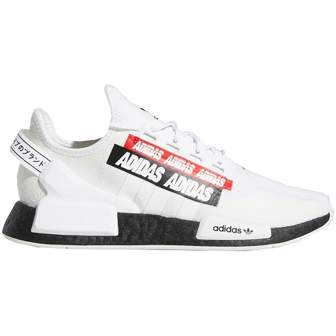 adidas NMD R1 V2 Label Pack Cloud White
