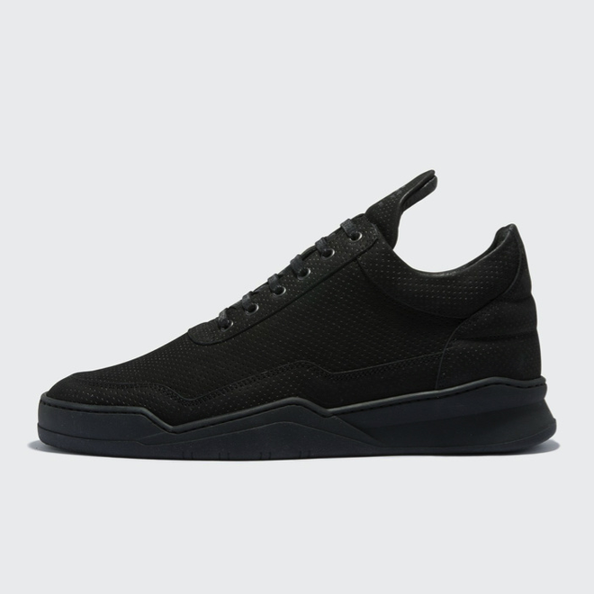 Filling Pieces Filling Pieces Low Top Ghost Microlane All Black