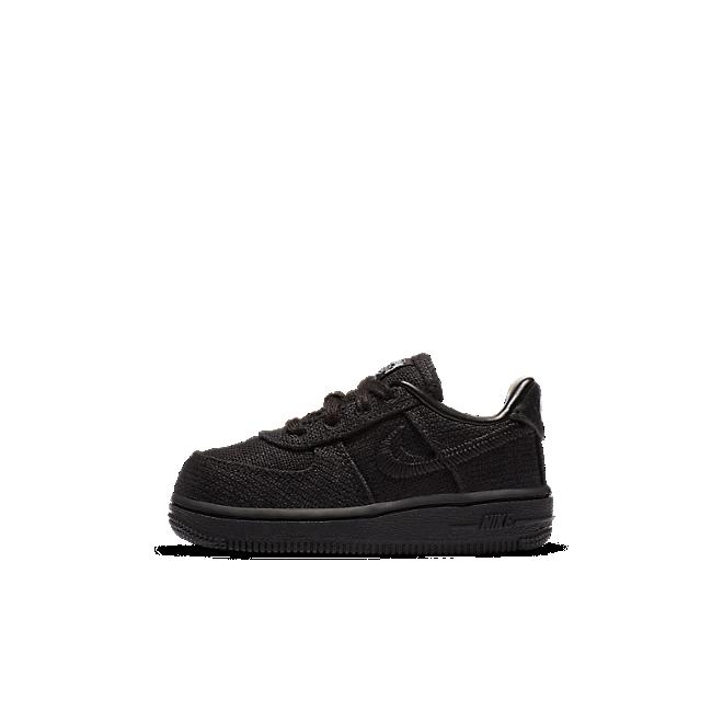 Stüssy X Nike Air Force 1 TD 'Black'