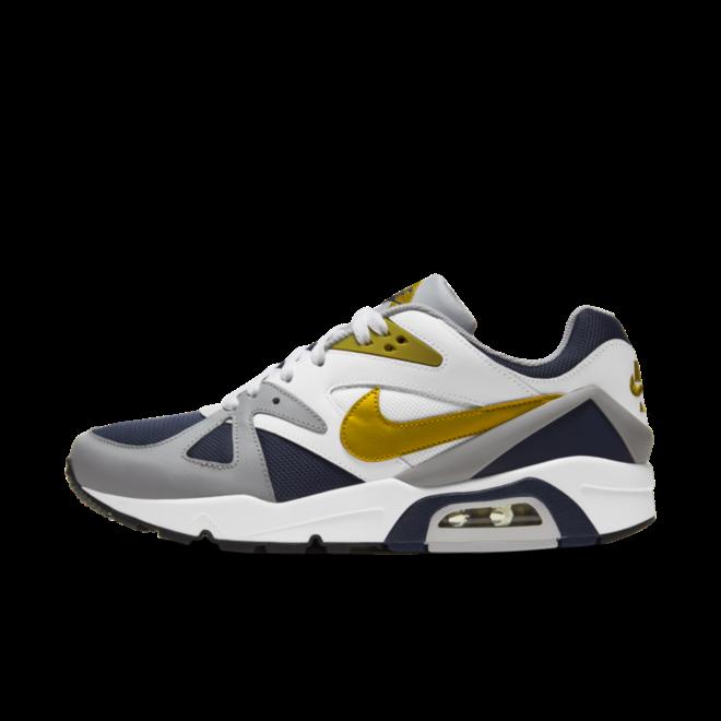 Nike Air Structure 'Navy & Gold' zijaanzicht