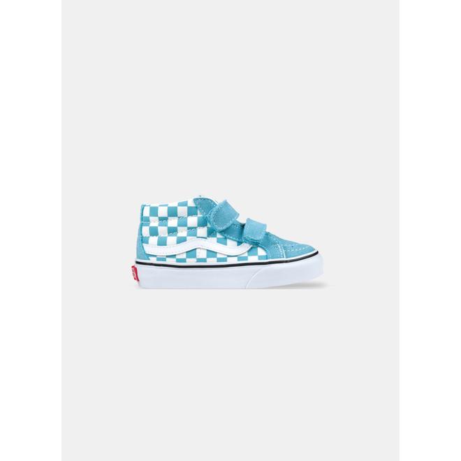 Vans Sk8-Mid Checker Delphinium Blue True White PS