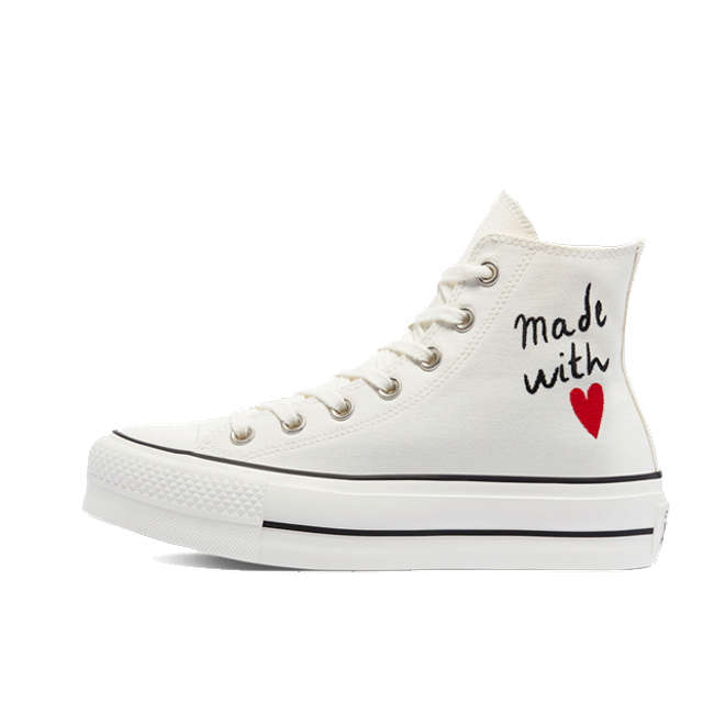 Converse Chuck Taylor All Star High Top Platform Valentine's Day 'White'