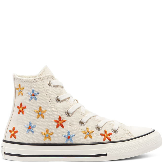 Spring Flowers Chuck Taylor All Star High Top