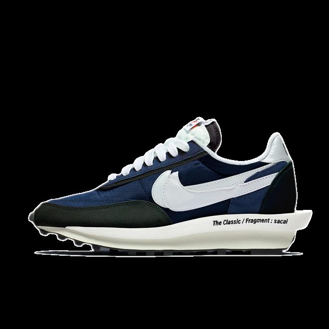 Sacai X Fragment X Nike LDWaffle zijaanzicht
