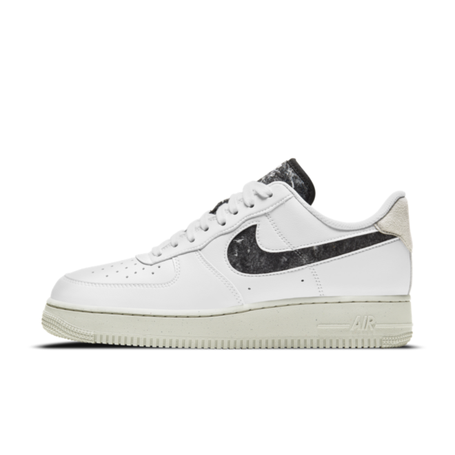 Nike Air Force 1 Crater 'White' zijaanzicht