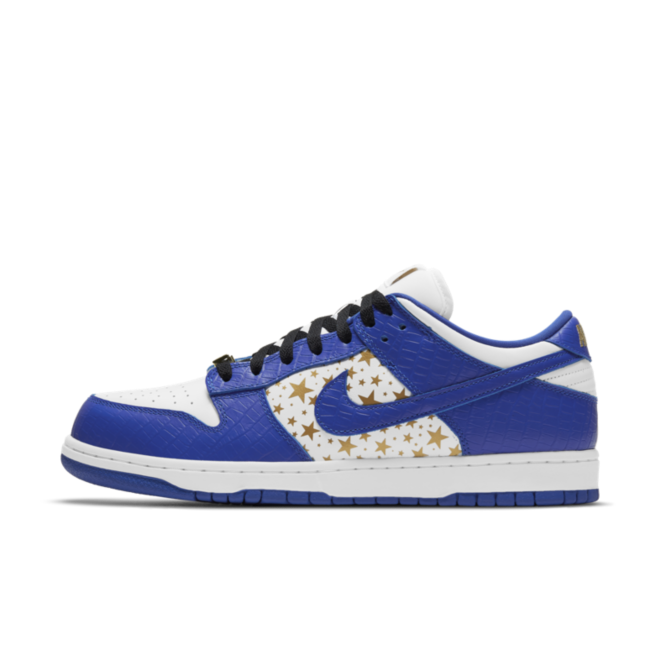 Supreme X Nike SB Dunk Low 'Hyper Blue' DH3228-100