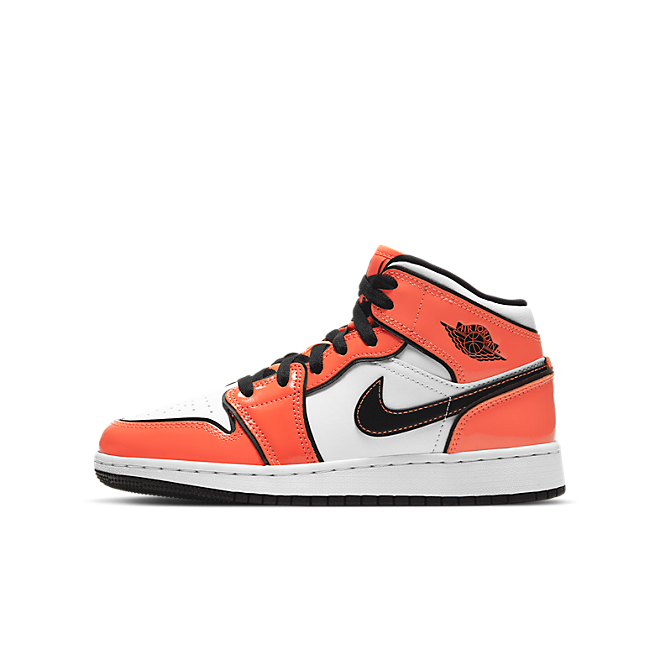 Jordan 1 Mid Turf Orange (GS)