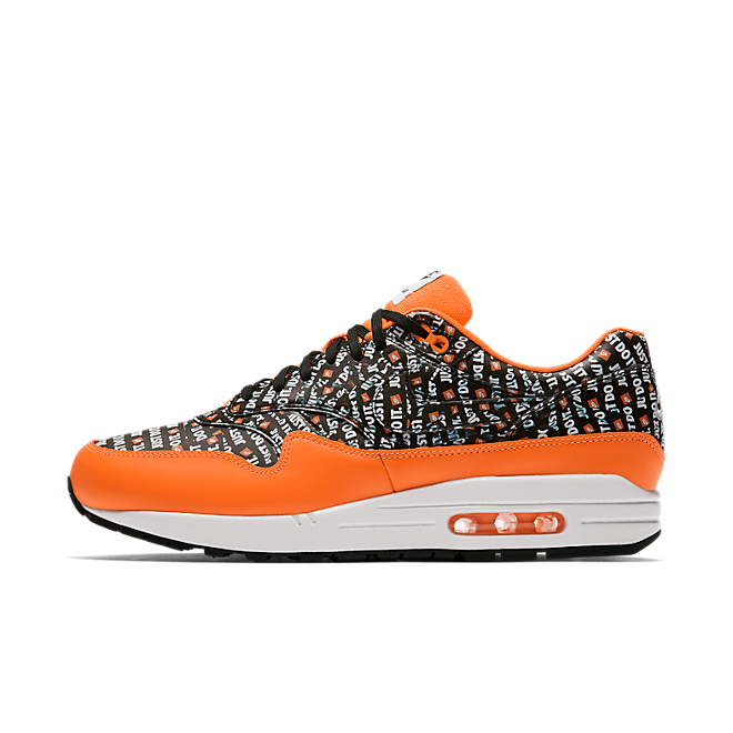 the latest premium selection buy Nike Air Max 1 'Just Do It' Orange | 875844-008