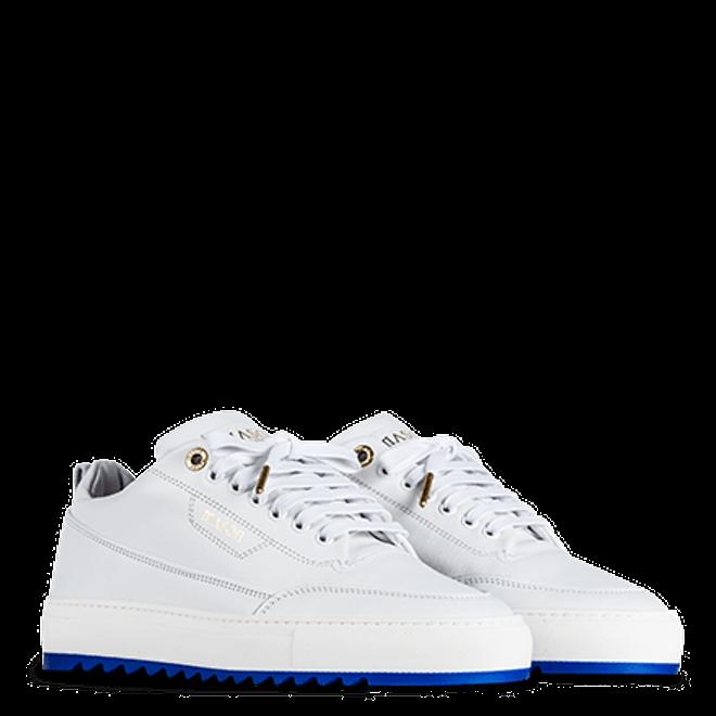 Mason Garments Torino Nubuck White / Blue