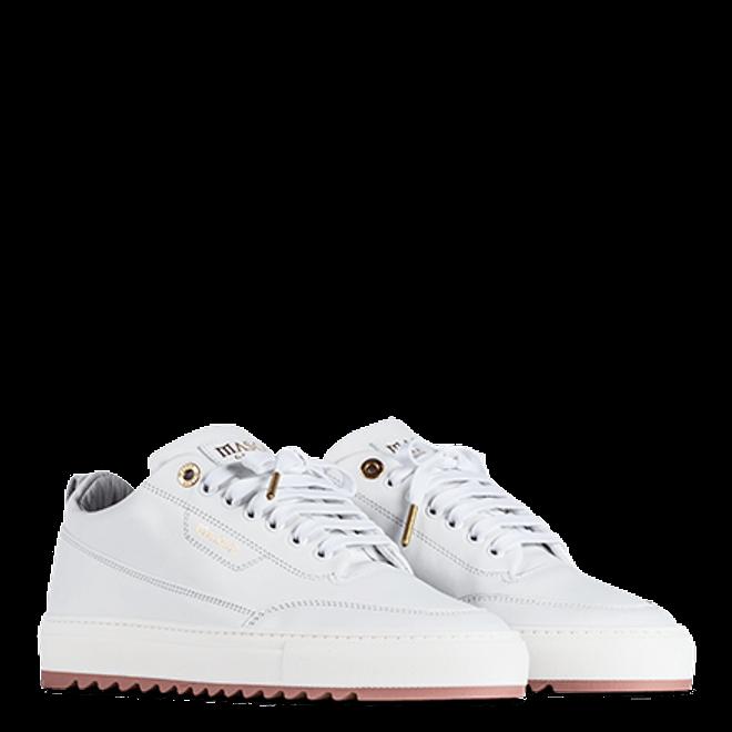 Mason Garments Torino Nubuck White / Nude