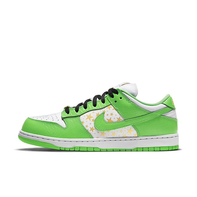 Supreme X Nike SB Dunk Low 'Mean Green'