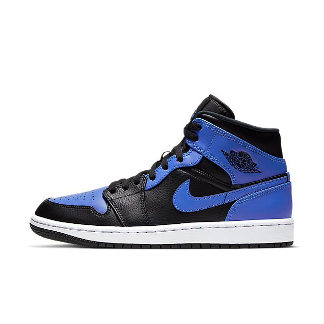 Air Jordan 1 Mid 'Hyper Blue' 554724-077