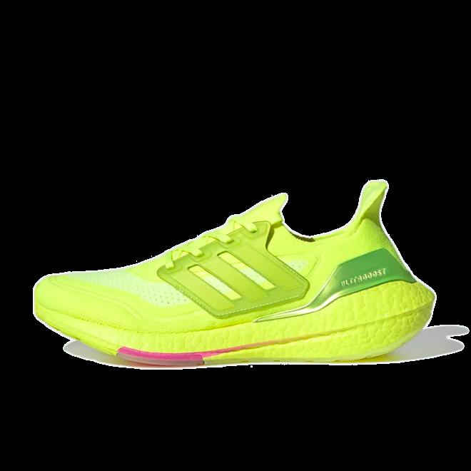 adidas Ultra Boost 2021 ' Solar Yellow'