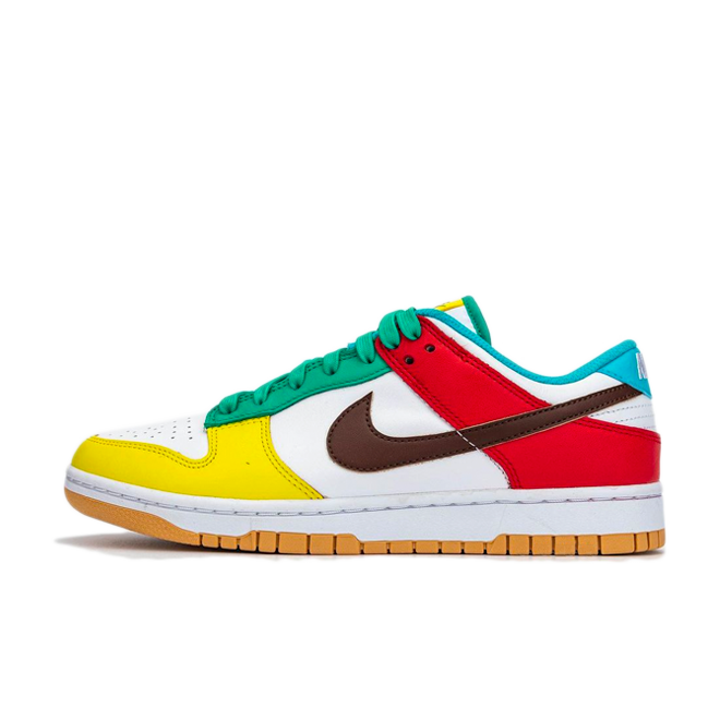 Nike Dunk Low 'Free 99' - White zijaanzicht