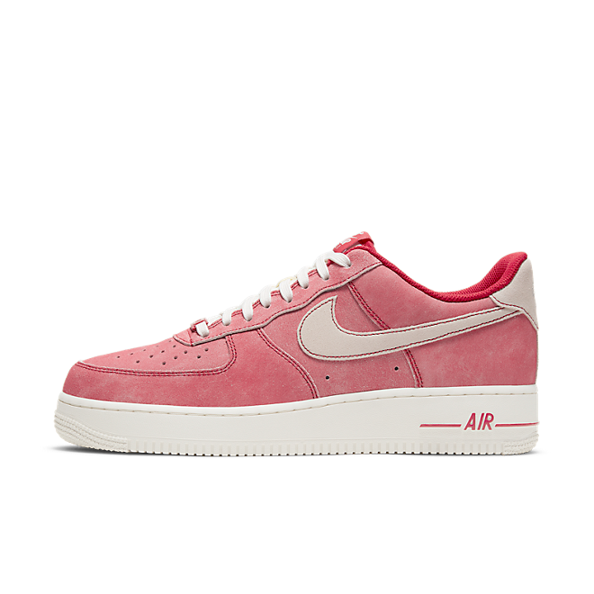 Nike Air Force 1 'Red' zijaanzicht