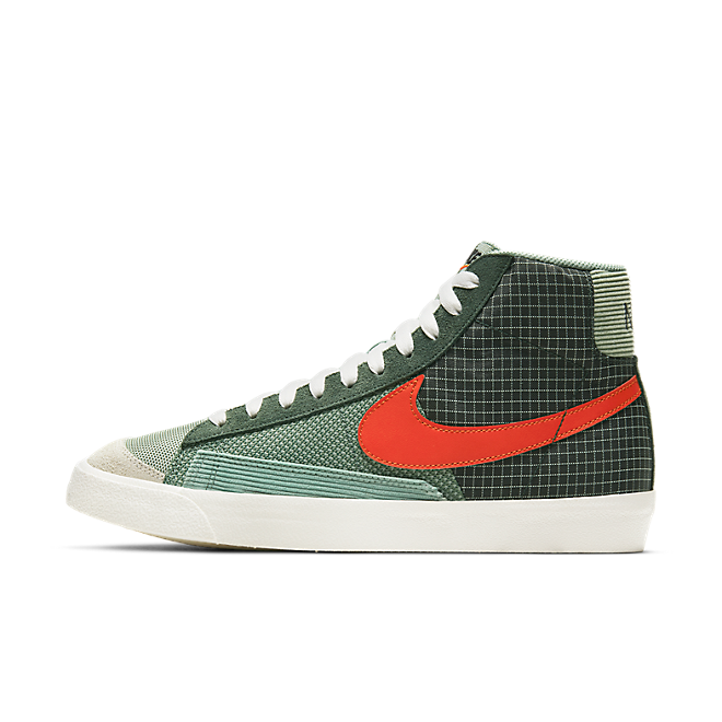 Nike Blazer Mid '77 Patch Dutch Green/ Tm Orange-Galactic Jade