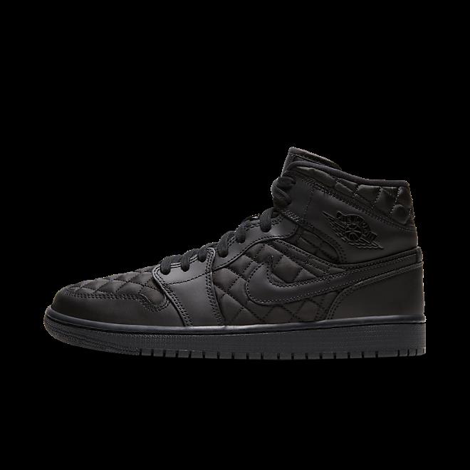 Jordan 1 Mid Quilted Black