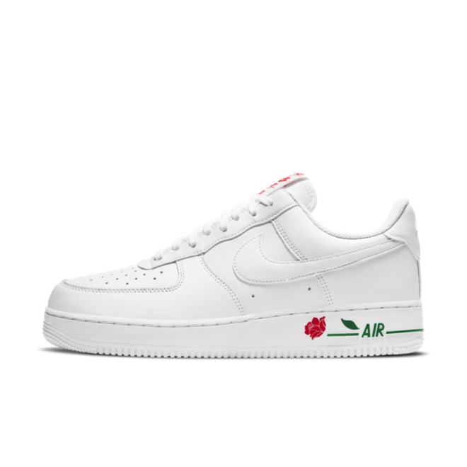 Nike Air Force 1 Low 'Rose' - White zijaanzicht