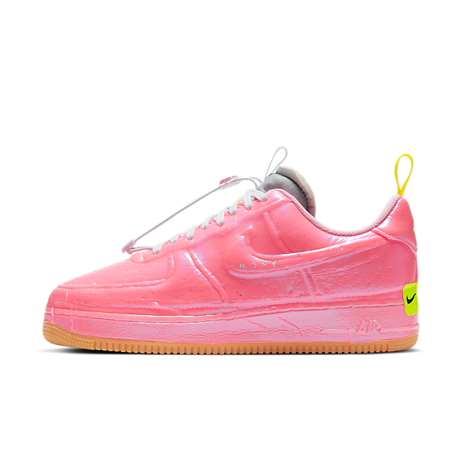 Nike Air Force 1 Low Experimental 'Racer Pink' zijaanzicht