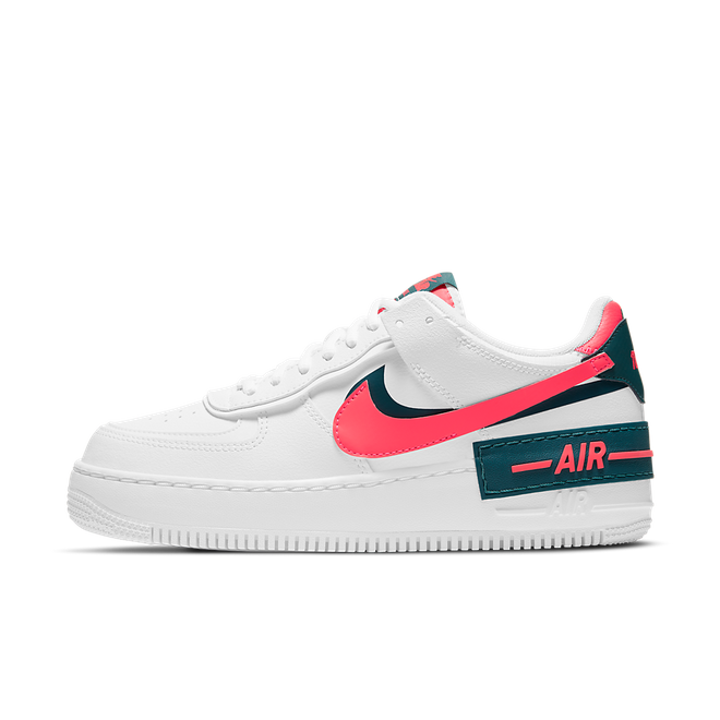 Nike Air Force 1 Shadow 'White/Solar Red'