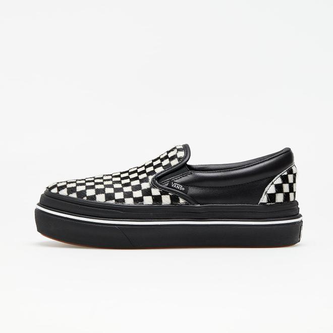 Vans Super ComfyCush Slip-On (Fury) Black/ White