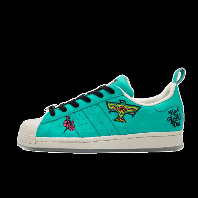 Arizona X adidas Superstar 'Green' GZ2871