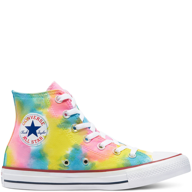 Tie Dye Chuck Taylor All Star High Top