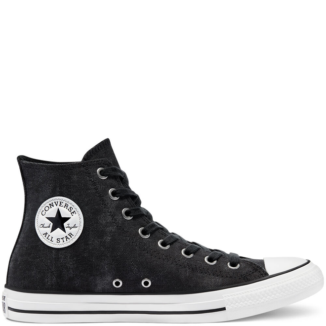 Washed Canvas Chuck Taylor All Star High Top