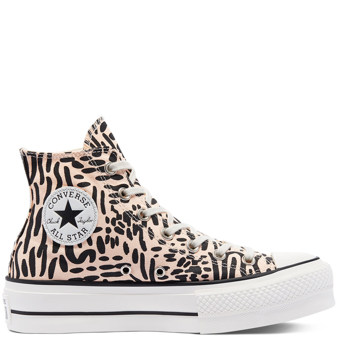 Jungle Art Platform Chuck Taylor All Star High Top