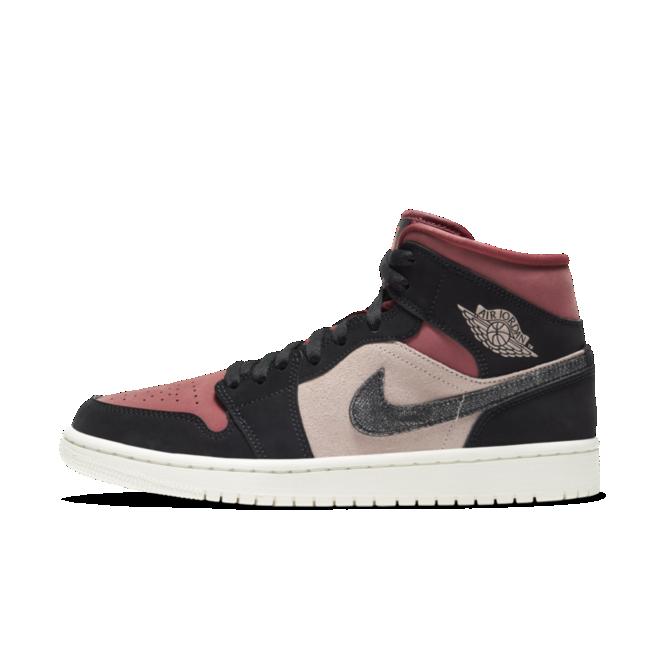 Air Jordan 1 Mid 'Canyon Rust' zijaanzicht