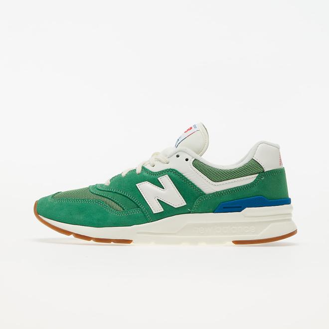 New Balance 997 Green/ White