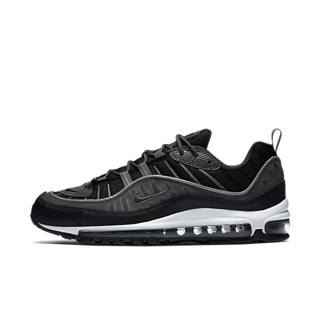 Nike Air Max 98 'Black' zijaanzicht