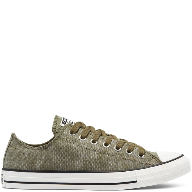 Washed Canvas Chuck Taylor All Star Low Top