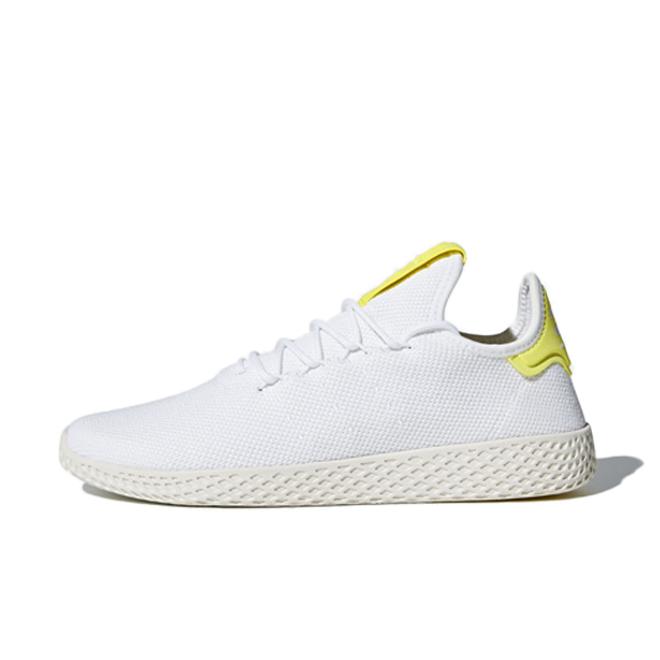 adidas Pharrell Williams Tennis Hu 'White/Yellow'