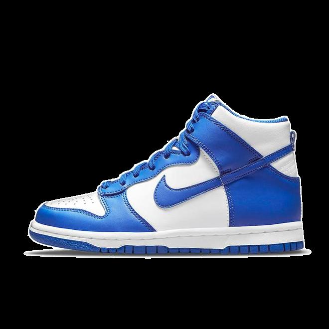 Nike Dunk High 'Game Royal' zijaanzicht